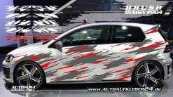 autoaufkleber auto folieren brush dekorsatz