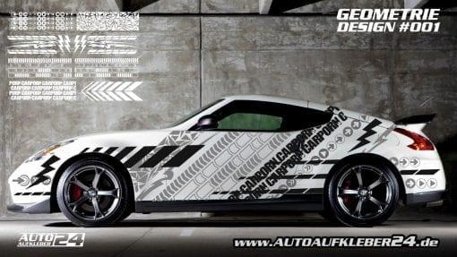 Autoaufkleber, Geometrie Design, car Wrap design, designfolie, Auto folieren, car wrapping