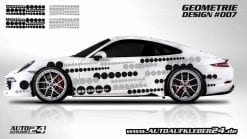 Autoaufkleber, Geometrie Design, car Wrap design, designfolie, Auto folieren, car wrapping