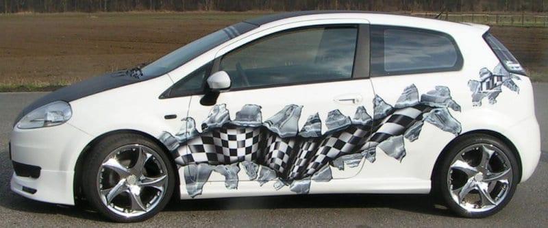 Digitaldruck Autoaufkleber