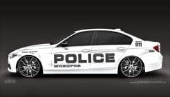 Police - Polizei Autoaufkleber Seitenaufkleber Aufkleber Decalset