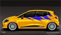 Autoaufkleber Seitenaufkleber Aufkleber Design