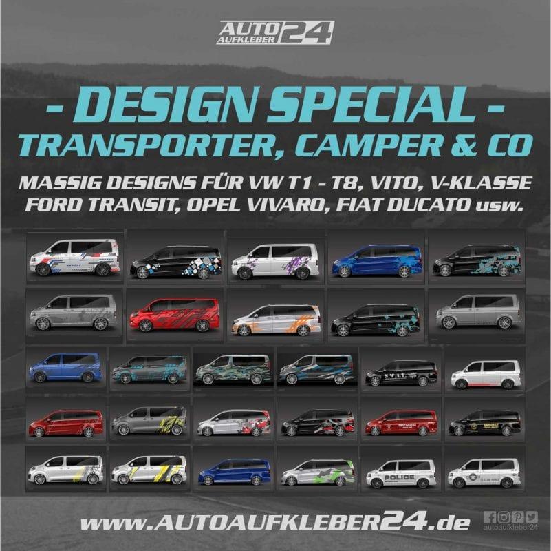 Autoaufkleber für Transporter