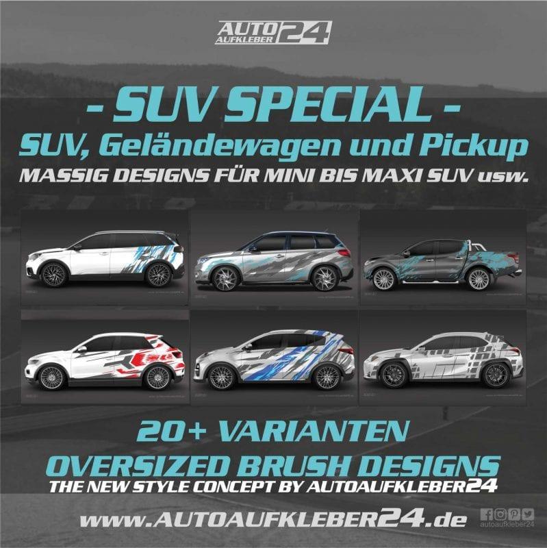 SUV Autoaufkleber