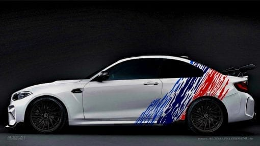 BMW M2 Autoaufkleber Carwrapping