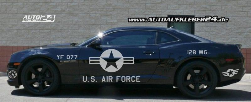 Police Design Autoaufkleber