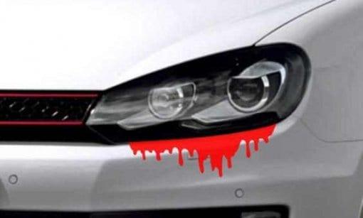 Blut Autoaufkleber