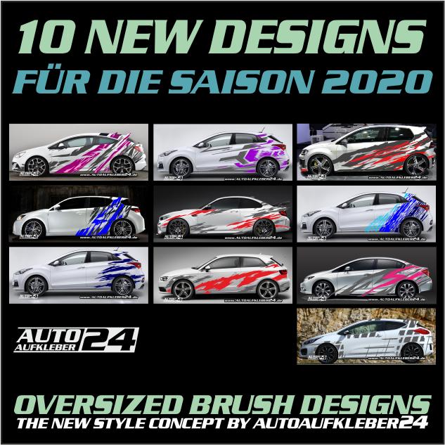 Autoaufkleber Aufkleber Car wrap 2020