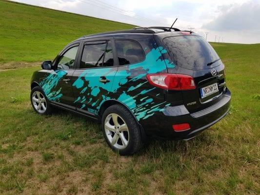 Brush Farbspritzer Farbkleckse Autoaufkleber Set Designfolien