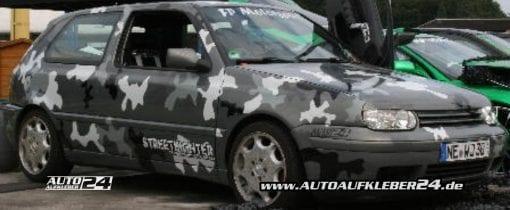 camouflage design car wrap folie