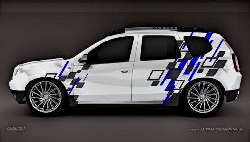 Aufkleber Dacia Duster Autoaufkleber