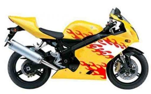 motorrad sticker aufkleber dekorsatz