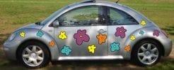 Blumen flowers Autoaufkleber Aufkleber