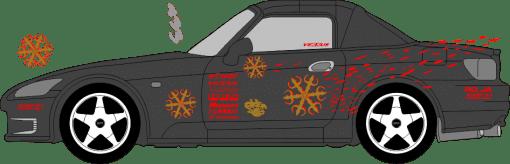 fast and furious aufkleber autoaufkleber