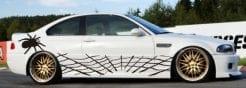 Spinne Spider Autoaufkleber Aufkleber Seitenaufkleber