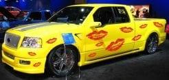 Küsse kisses Autoaufkleber Aufkleber Seitenaufkleber