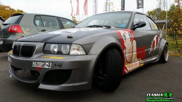 itasha - Mangaaufkleber, Manga Car Wrap Folien, Manga Designs, Autoaufkleber