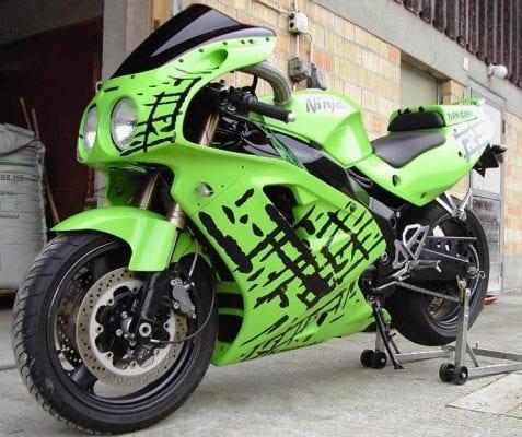 Design Aufkleber für Motorräder