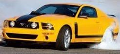 Ford Mustang Seitenstreifen Aufkleber