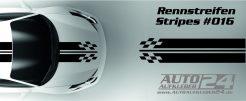 Viperstreifen, Mustang, Rennstreifen, Racing, Rallystreifen, Streifen