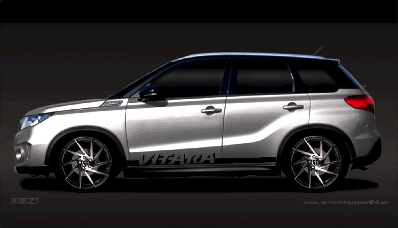 Seitenstreifen Zierstreifen - Aufkleber / Seitenaufkleber / Autoaufkleber SUV Suzuki SX4 s-Cross Jimny Vitara