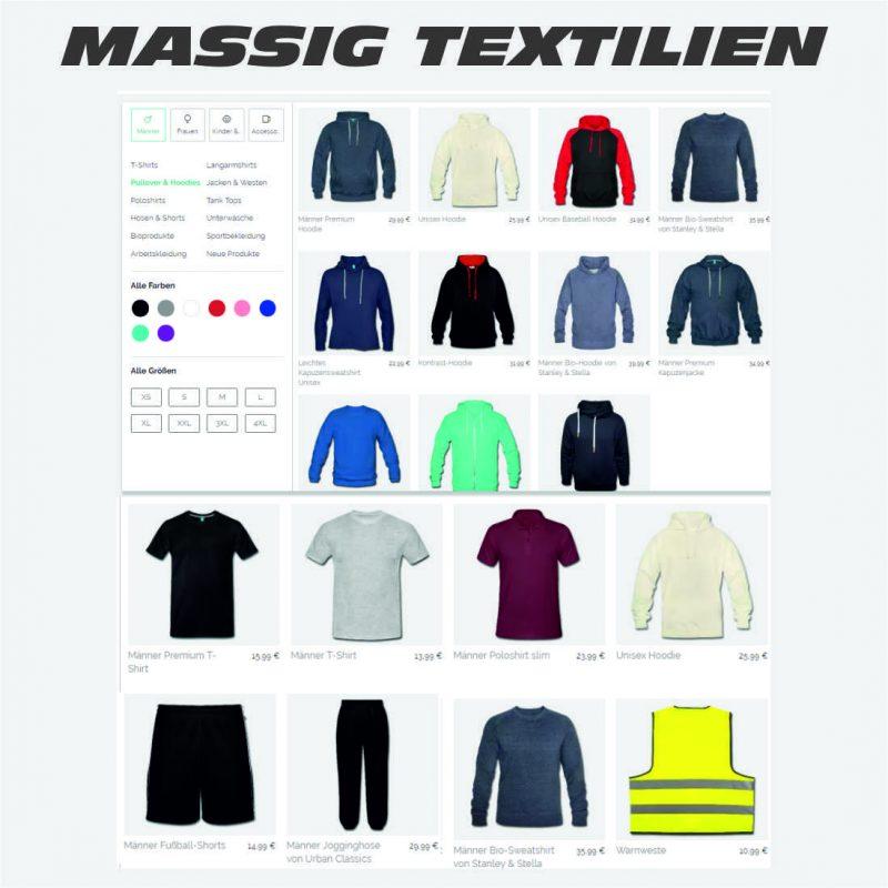 shirtdesigner - eigene Shirts designen